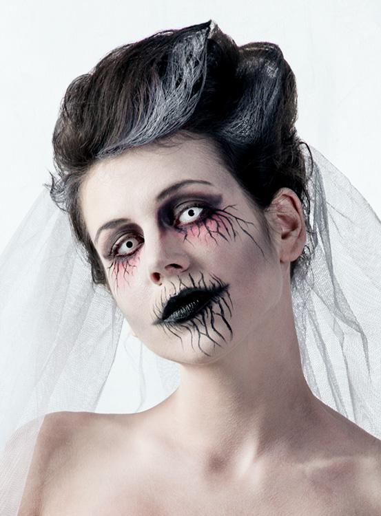 Halloween Kostüm Geisterbraut Schön Halloween Make Up Tutorial Geisterbraut Maskworld