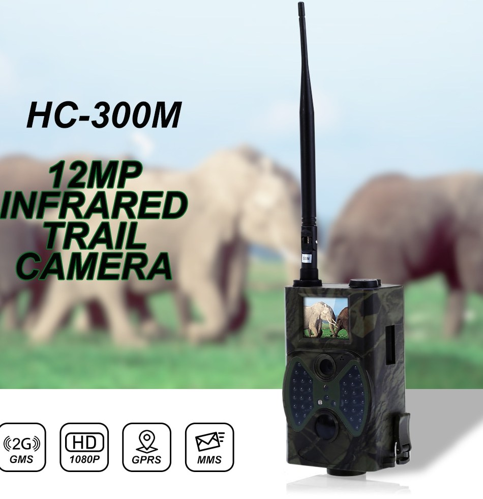 HC300M 12MP 940nm Night Vision Hunting Camera font b MMS b font Infrared Hunting Trail Camera