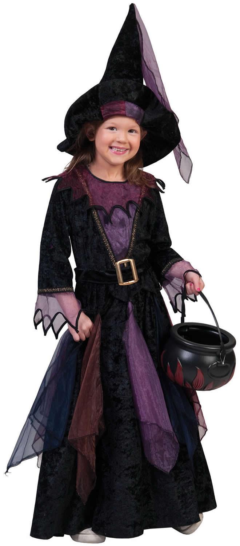 Halloween Kostüm Hexe Genial Hexe Hexen Halloween Kinder Karneval Fasching Kostüm 98
