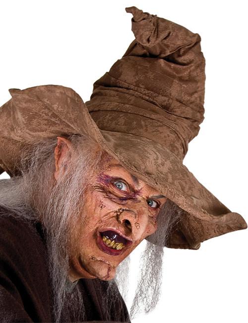 p halbmaske hexe halloweenmaske bunt