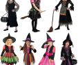 Halloween Kostüm Hexe Schön Hexe Hexen Halloween Kinder Karneval Fasching Kostüm 98