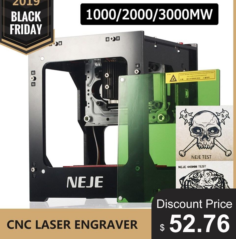 NEJE DK 8 KZ 1000 2000 3000mW Professional DIY Desktop Mini CNC font b Laser b