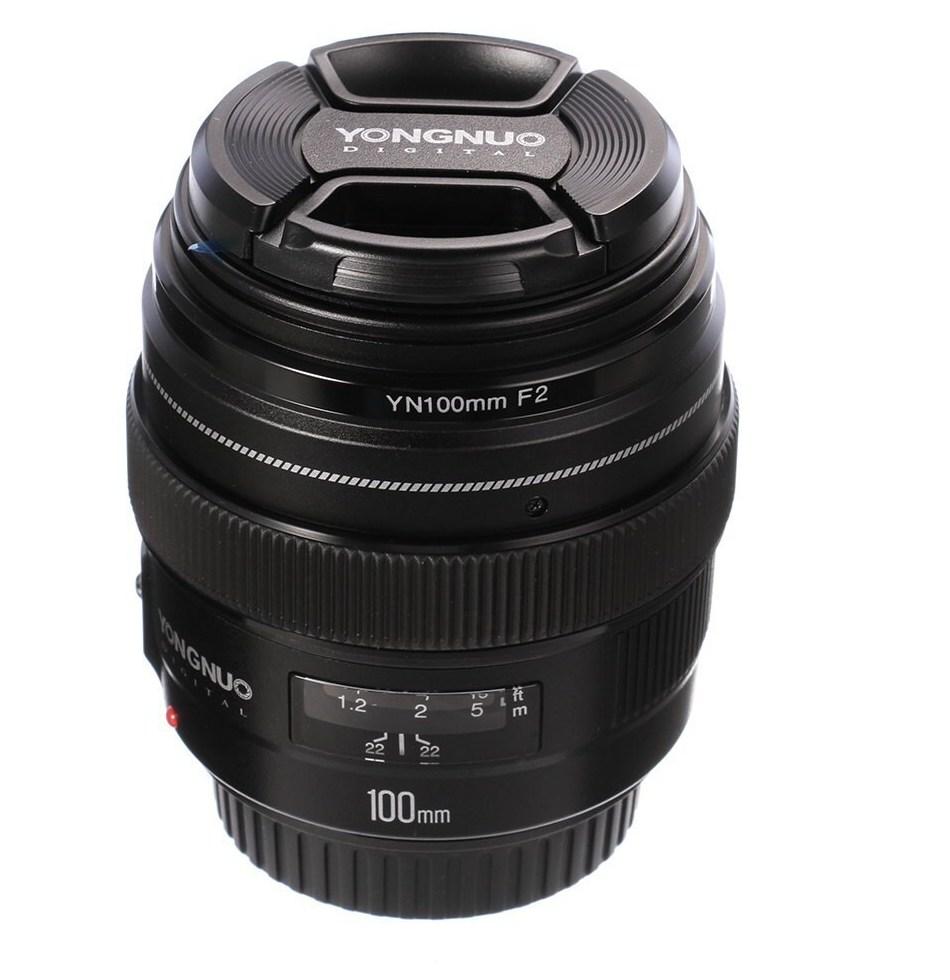 YONGNUO font b 100MM b font YN100mm F2 Aperture Medium Telephoto Prime Lens for font