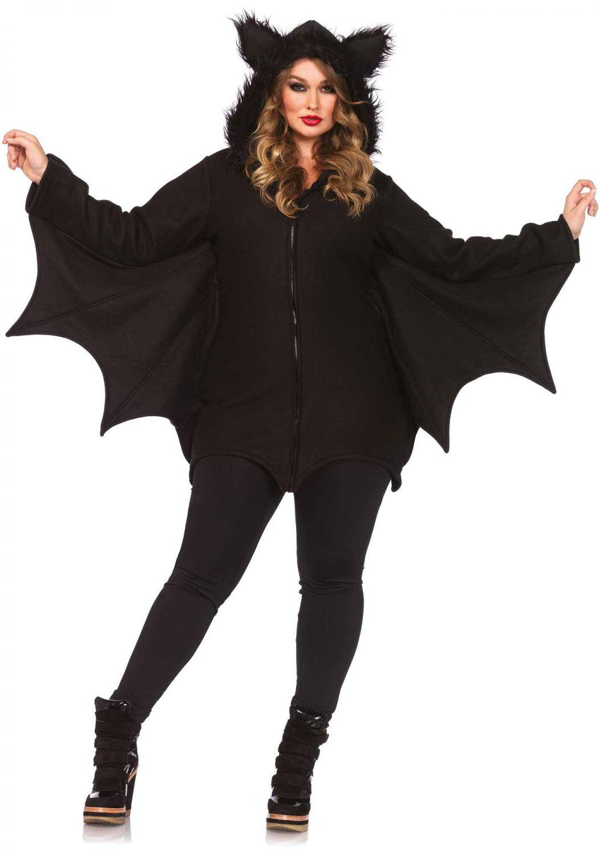 Leg Avenue Halloween Damen Kostuem Fledermaus Cozy Bat XXL