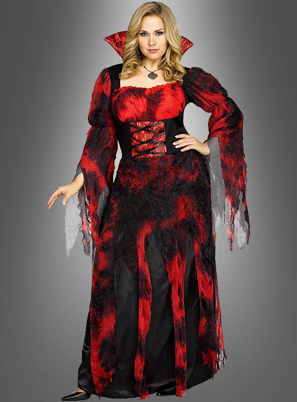 XXL Blutige Graefin Vampirkostuem