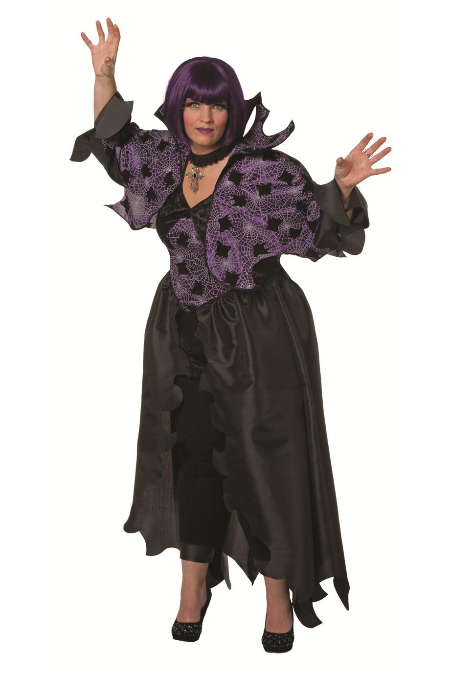 XXL Daemonen Lady Faschingskostuem grosse Groesse Halloweenverkleidung Oversized 452