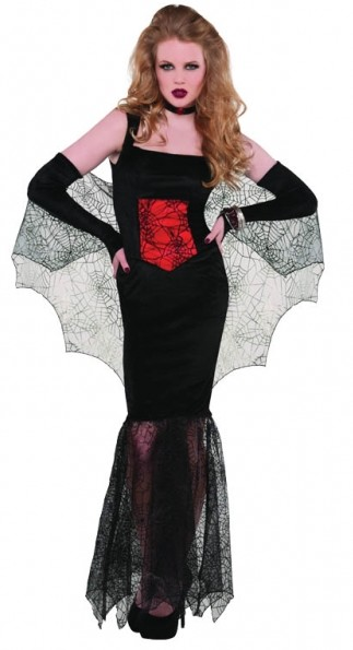 p halloween vampir kostuem frau