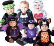 Halloween Kostüme Für Kleinkinder Einzigartig Baby Babys Kleinkinder Halloween Hexe Vampir Strampler