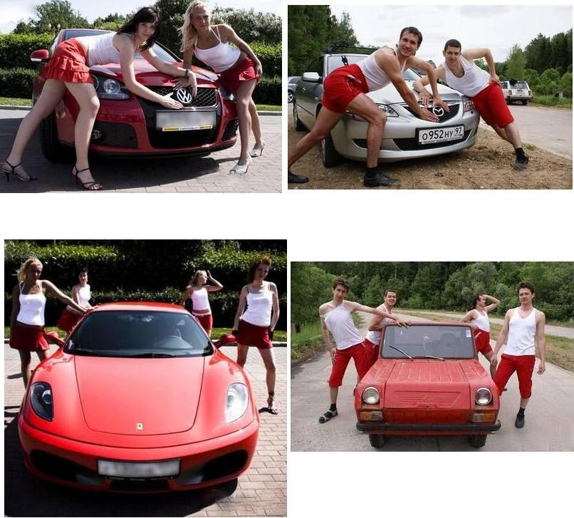 289 Warum sollten Maenner keine Werbung fuer Autos machen