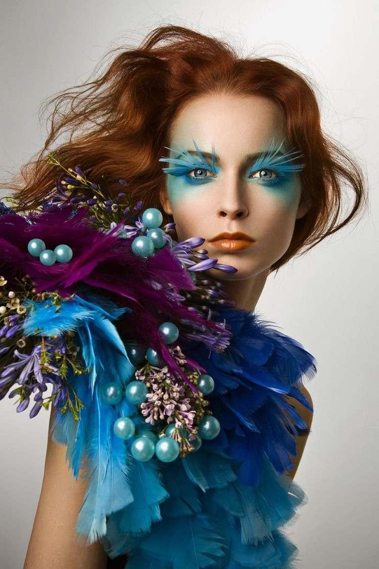 halloween makeup ideen gesicht schminken