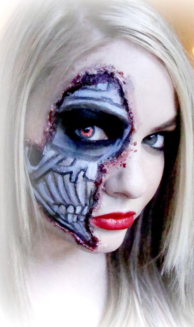 halloween schminke fur frauen 37 gruselige makeup ideen