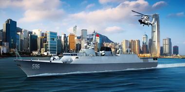 chinese navy type 056 class corvette huizhou qinzhou