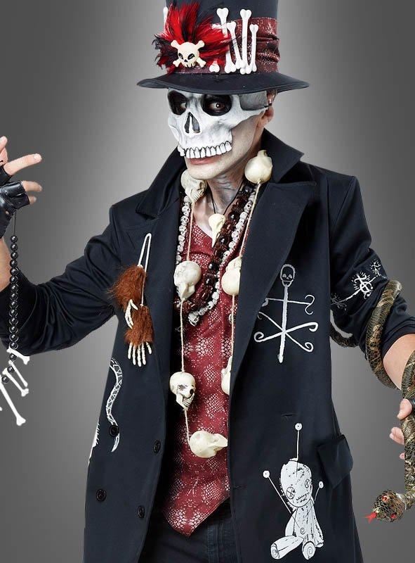 Voodoo Priester Kostuem fuer Herren