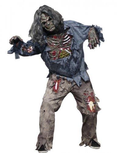 p schreckliches zombie kostuem herren halloween