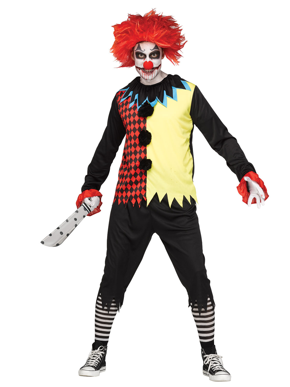 Halloween Kostüme Herren Inspirierend Verrückter Zirkus Clown Halloween Kostüm Für Herren Bunt