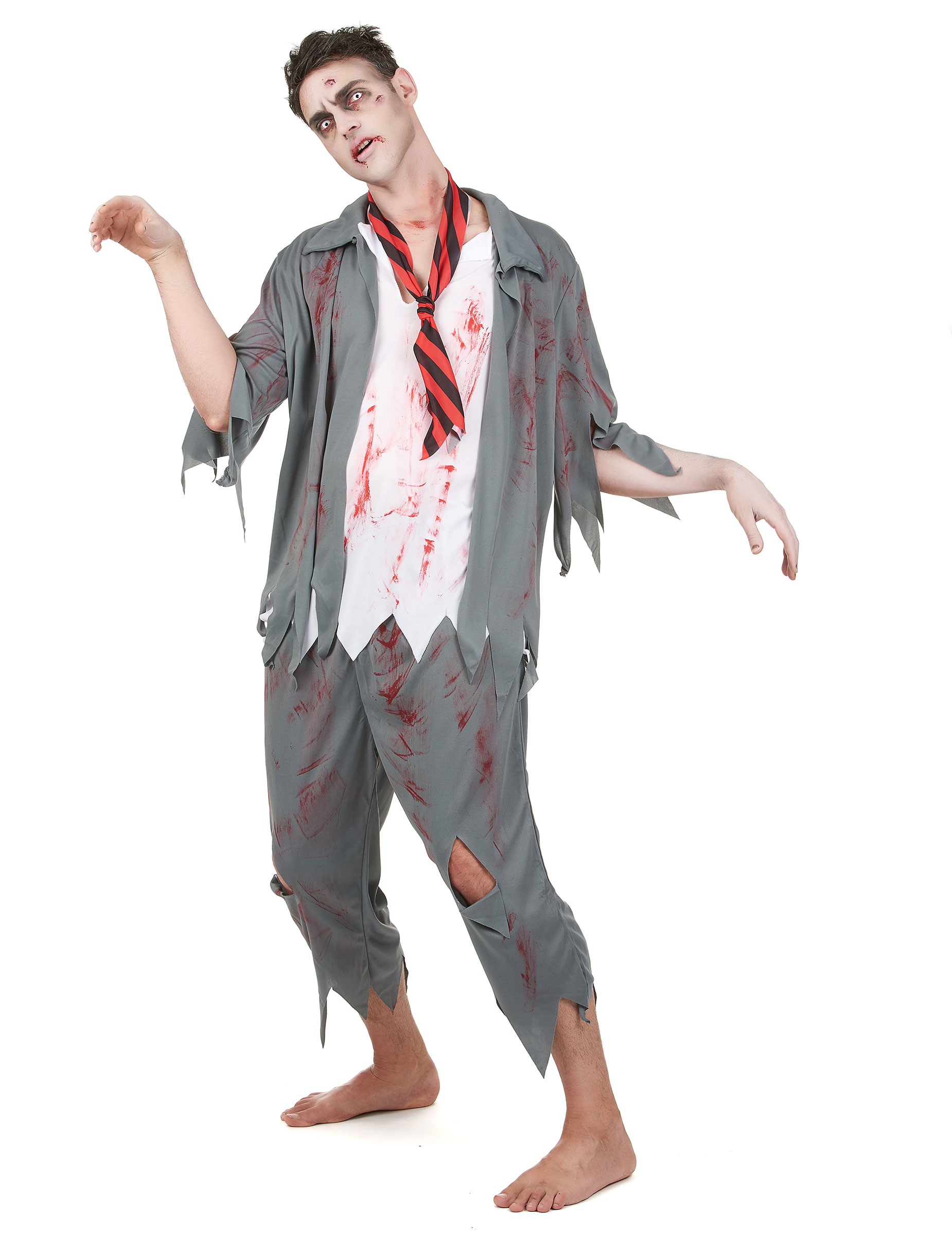 p zombie kostum fur herren