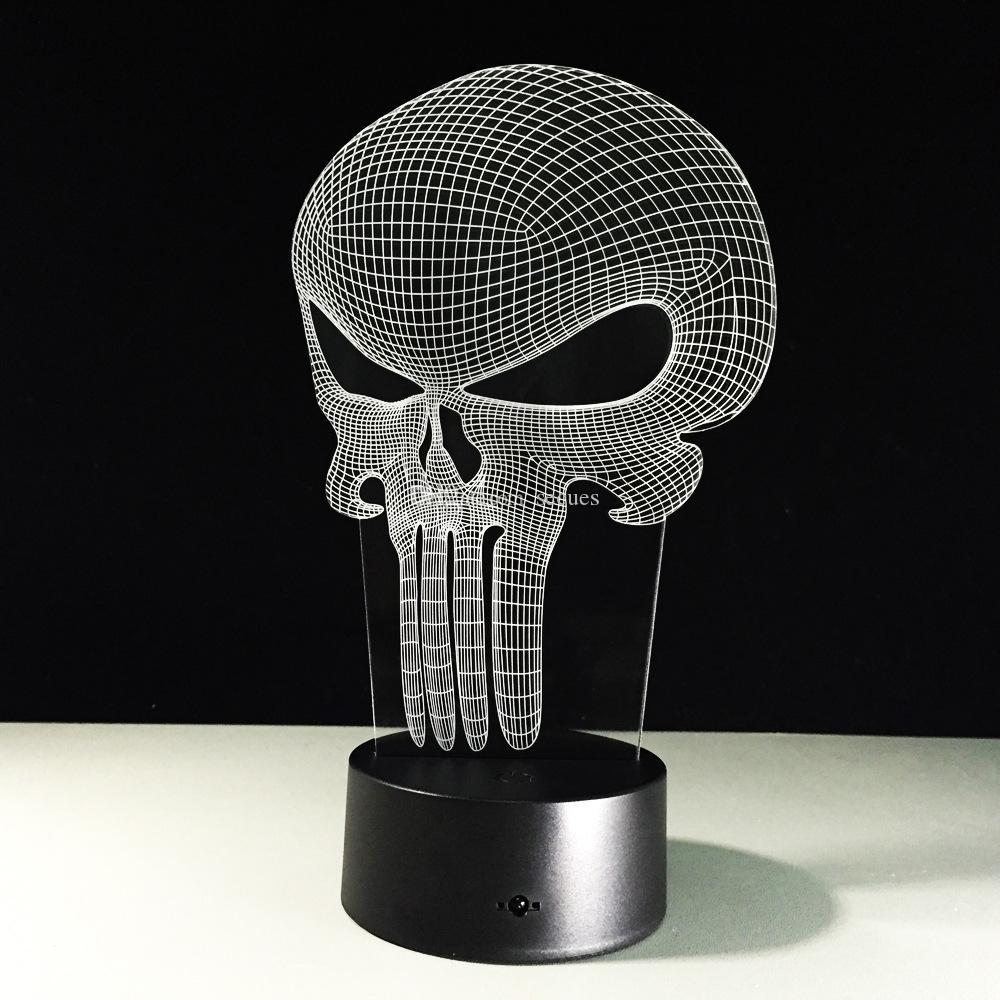 halloween editeur illusion 3d lampe optique