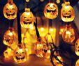 Halloween Lampe Neu Купить Оптом 30 Led СоРнечной Энергии Струнные СветиРьники Led Сказочный Свет ДРя Партии Тыквы Grimace ХэРРоуин Пейзаж Сада Открытый Украшения