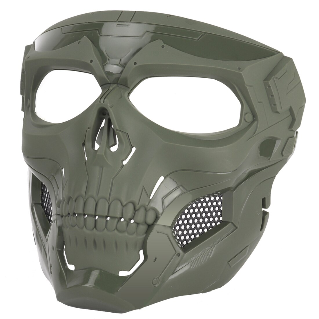 NFSTRIKE WST Skull Tactical Mask Halloween Party Games Face Mask For FAST Outdoors Tactics Accessories MA