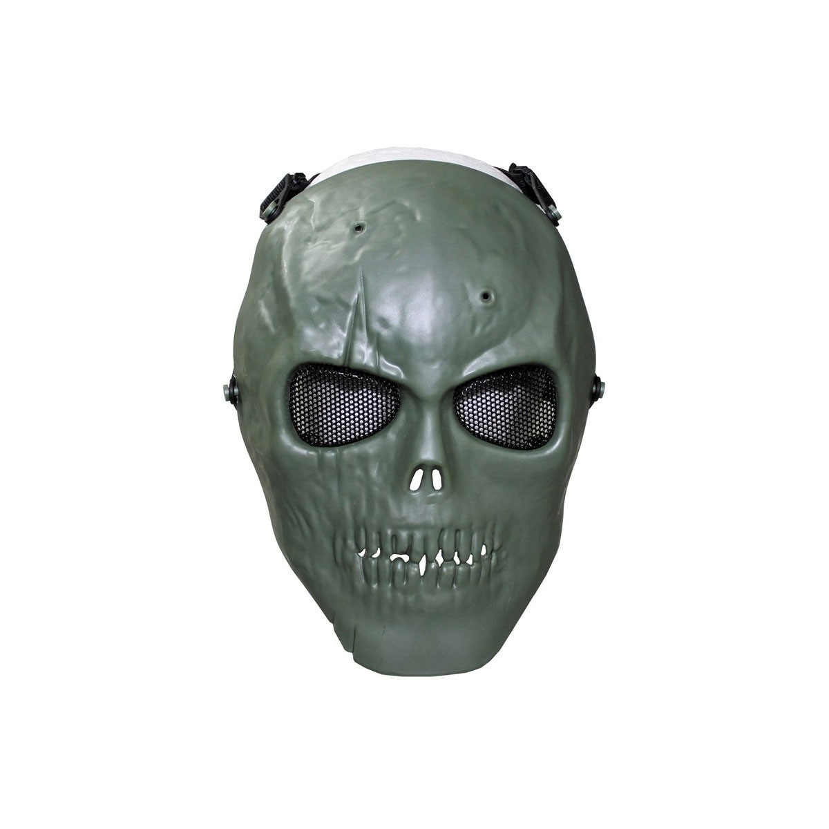 max fuchs face mask skull deco full protection od green