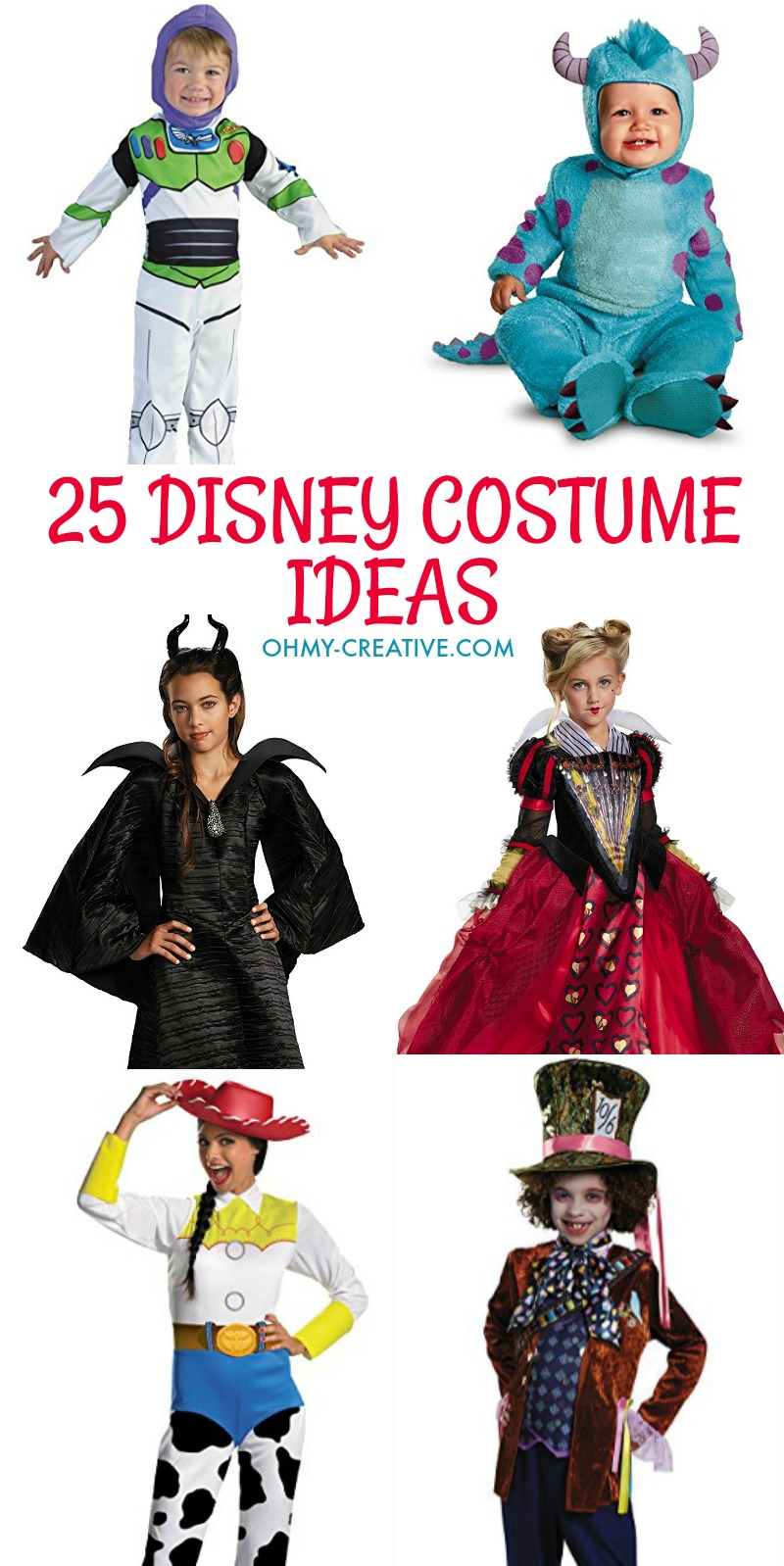 25 Disney costume ideas