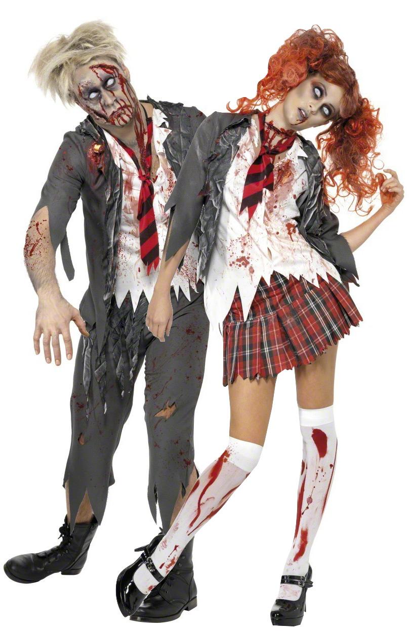 p zombie schuler kostum halloween fur paare type=product
