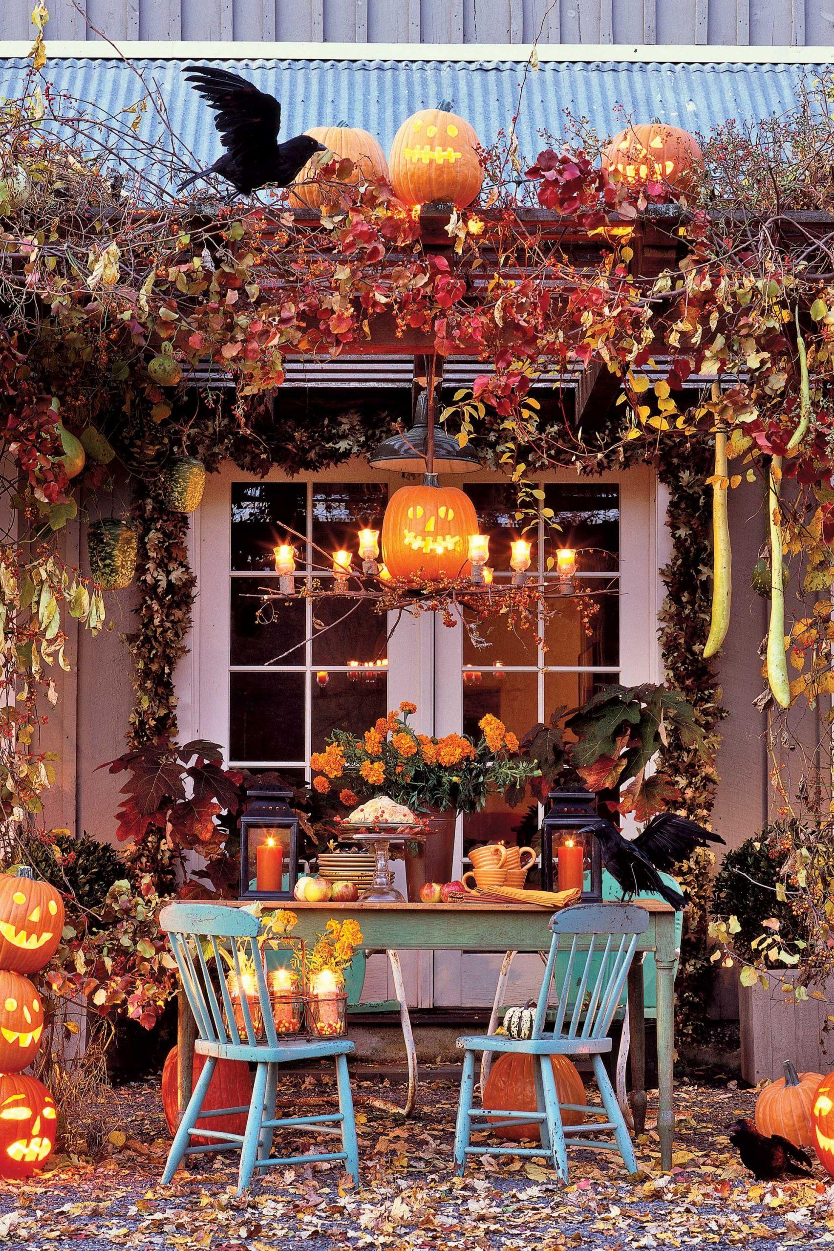 34 Genial Halloween Party Deko Garten Deko