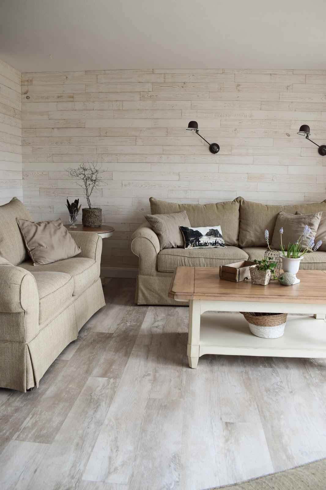 Wohnzimmer Dekoidee Wandverkleidung Holz Wandwood Deko Einrichtung Holzwand Renovierung DIY Selbermachen 2