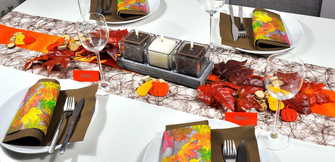 Halloween Party Deko Ideen Luxus Herbstliche Tischdekoration Herbstlaub Bei Tischdeko Shop