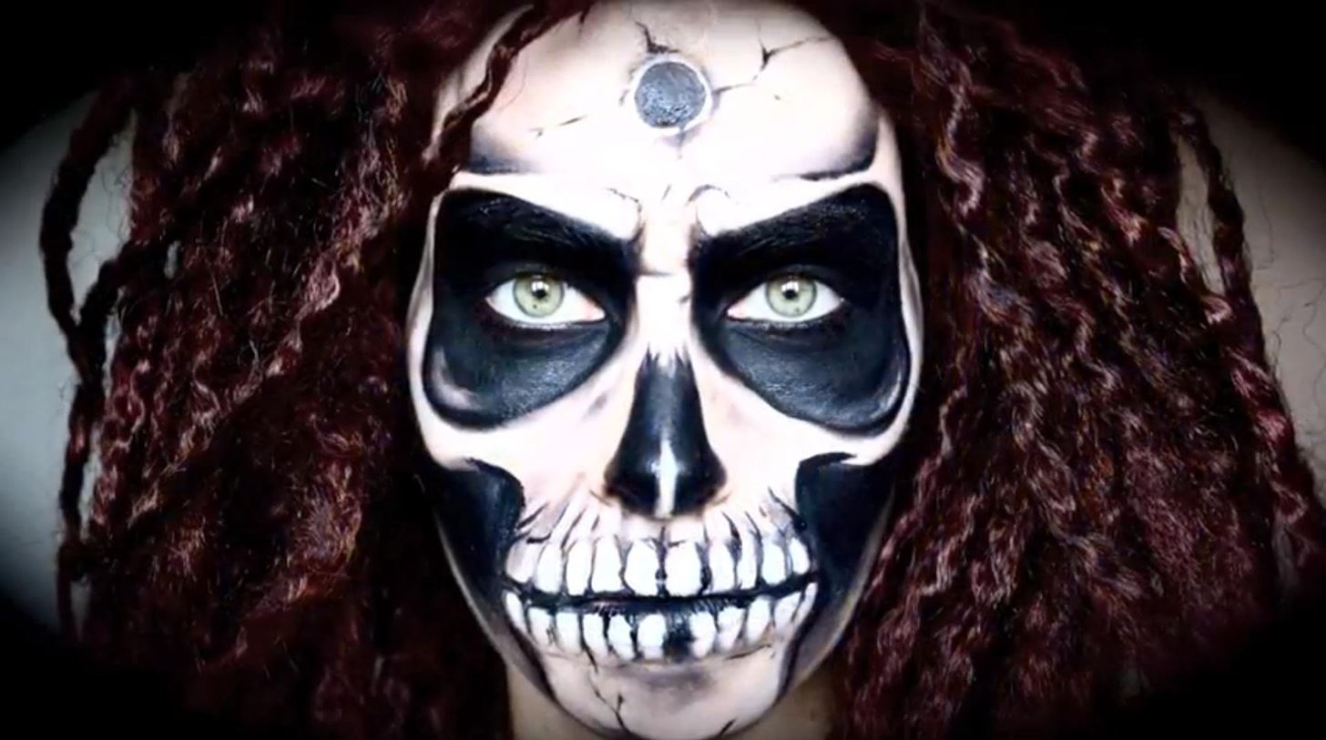 10 totally fd up halloween makeup looks terrify trick treaters with w1456