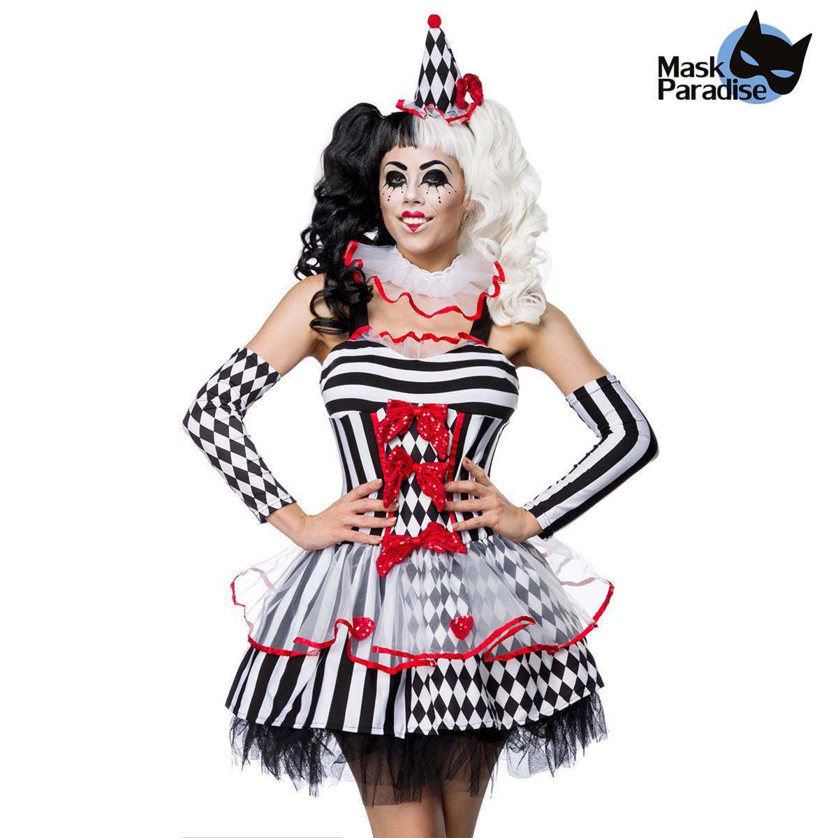 halloween kostum harlekin girl mit hut und armstulpen 3408 vm56 fw3 213 600x600 2x