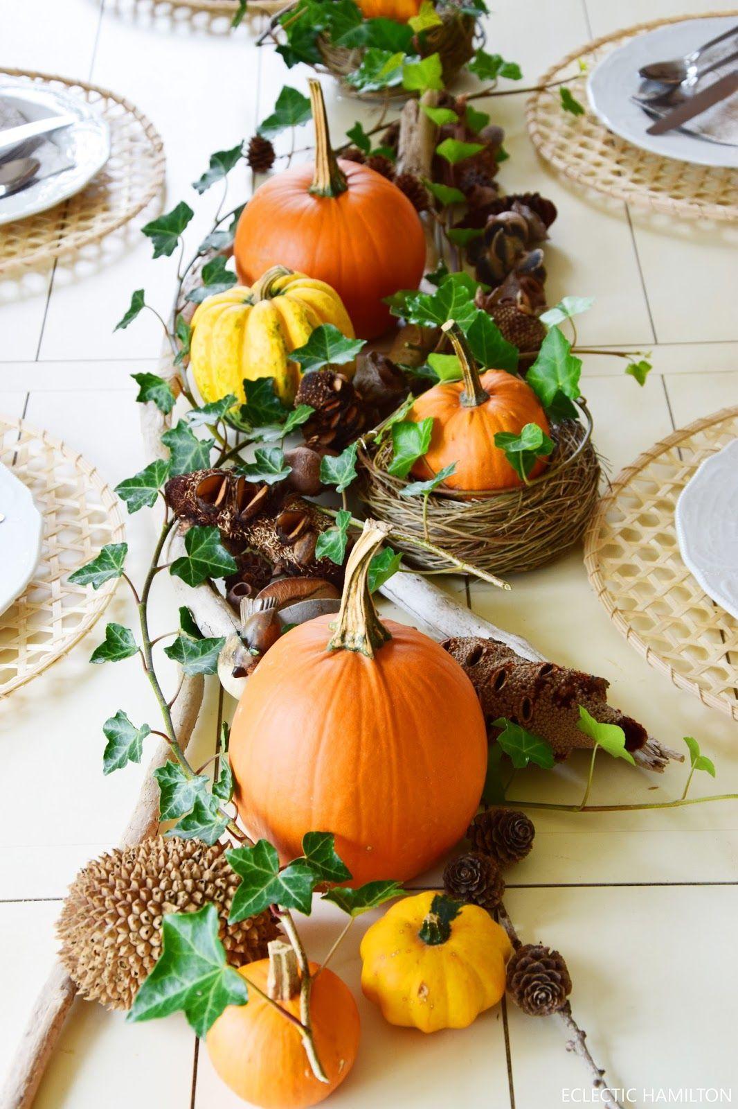 Halloween Tischdeko Best Of Herbstliche Tischdeko Mit Kürbissen