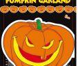 Halloween Tischdeko Luxus Scary Pumpkin Kürbis Girlande Halloween 3m