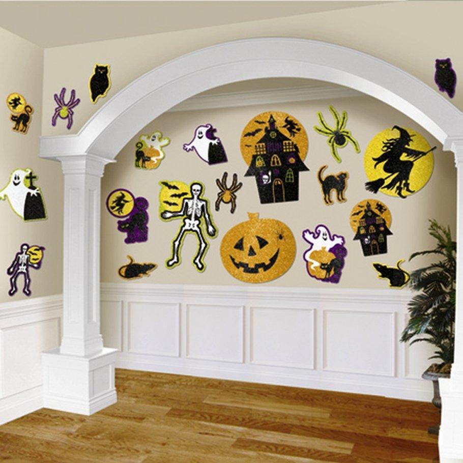 20 Halloween Deko Schilder Wanddekoration