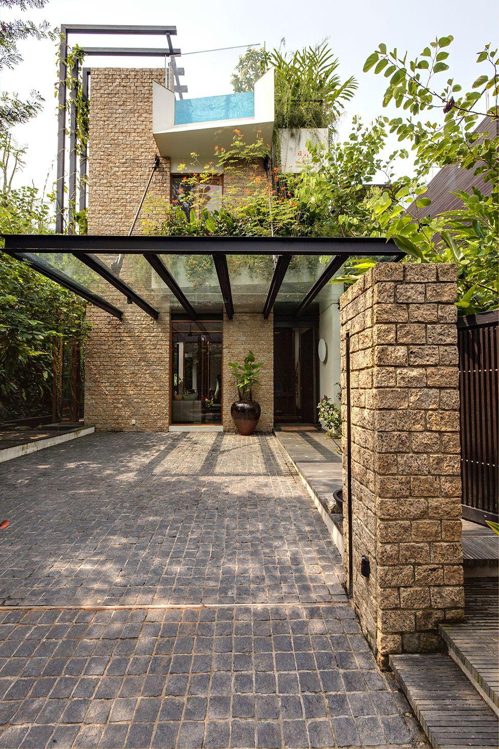 Haus Und Garten Inspirierend ВертикаРьные сады частного особняка в Сингапуре