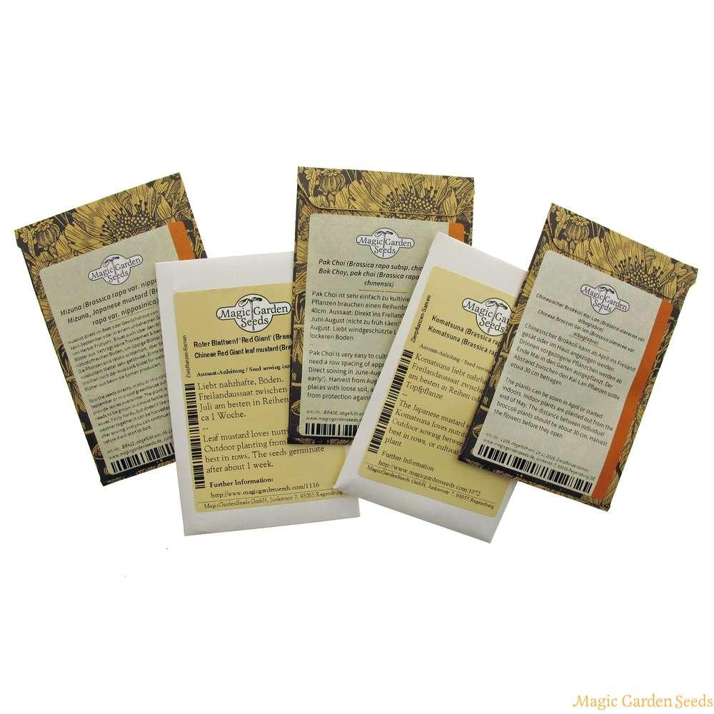 Asian Greens Seed kit t box 3