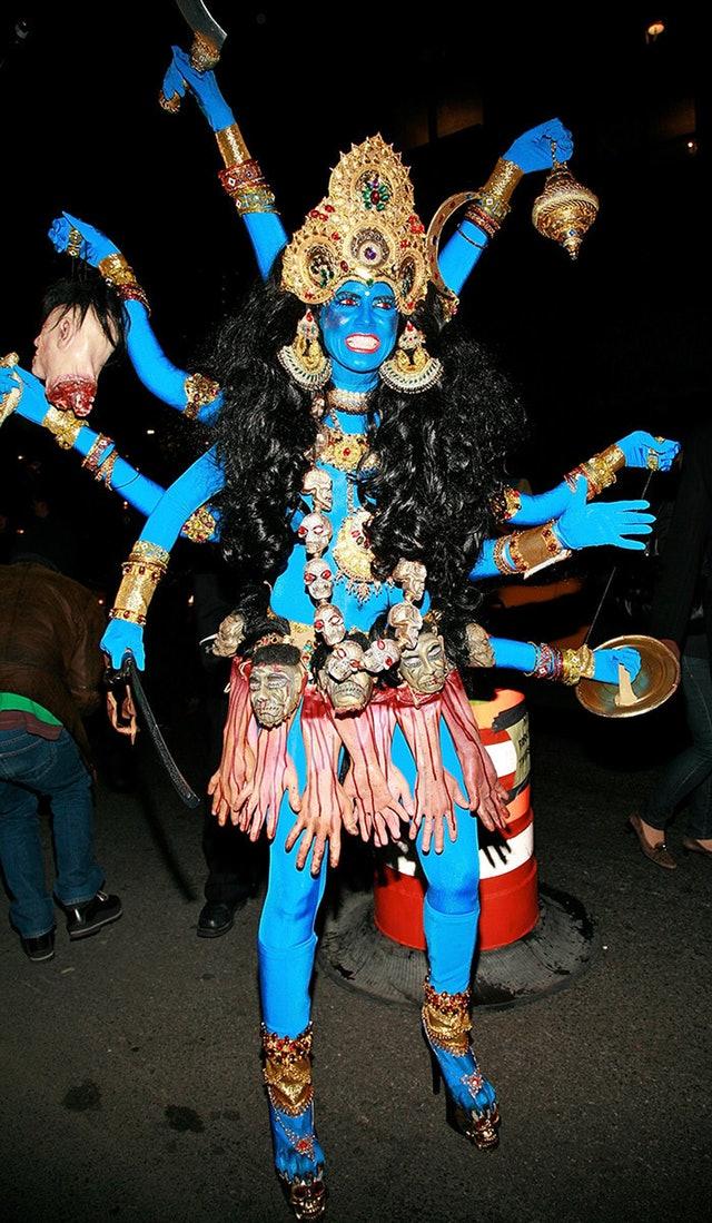 heidi klum halloween costumes throughout the years