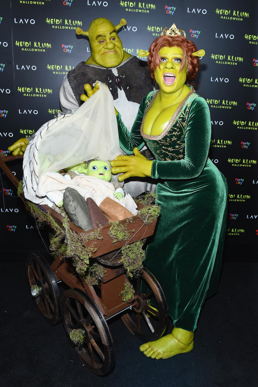 Heiße Halloween Kostüme Inspirierend Heidi Klum Dresses as Shrek S Princess Fiona for Halloween