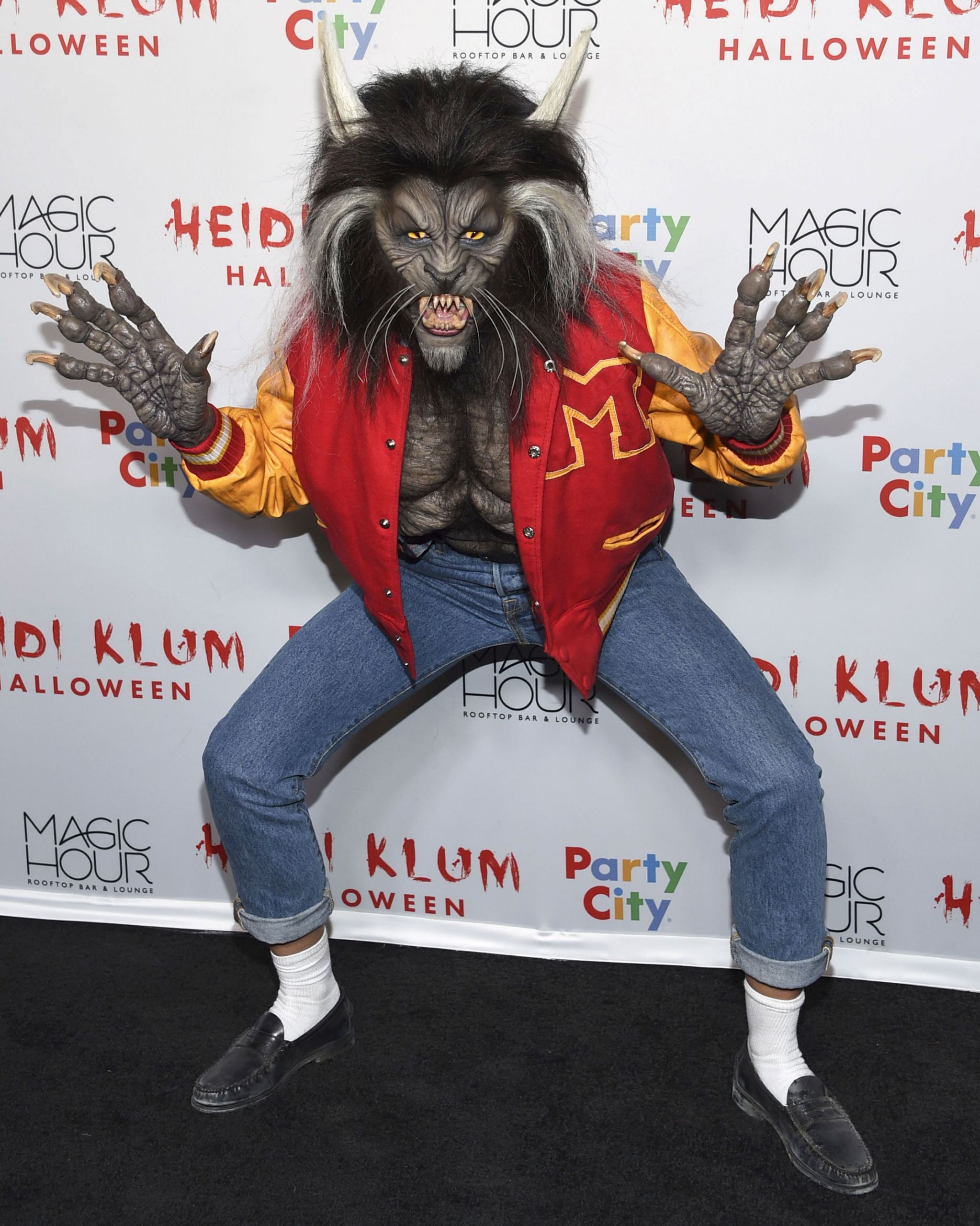 heidi klum halloween party costumes