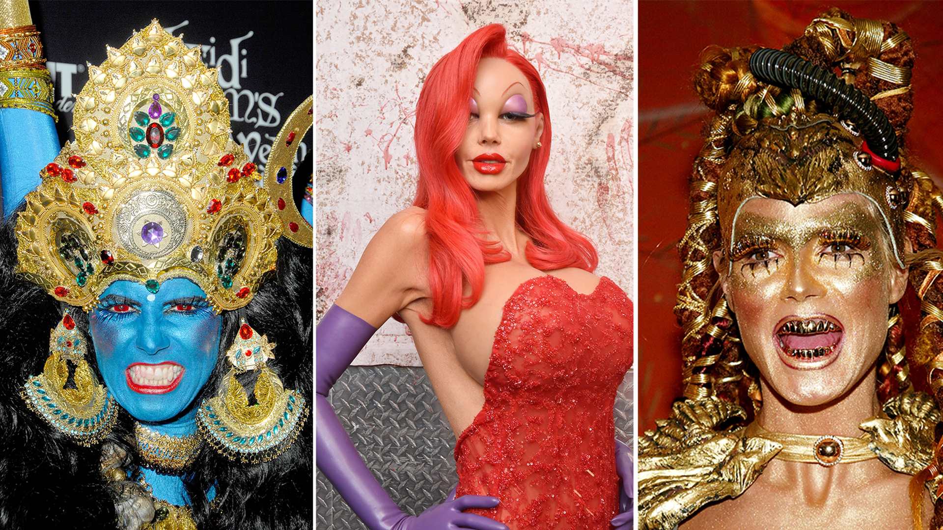 heidi klum queen halloween see her best costumes through years t