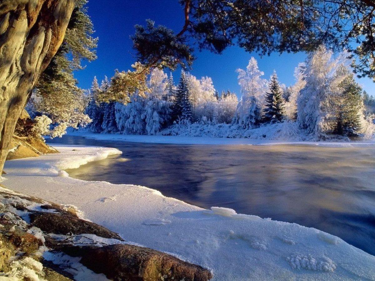 cropped Eisfluss Bild