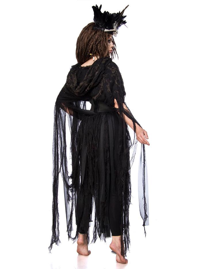 Voodoo Hexen Kostuem fuer Damen 002 001
