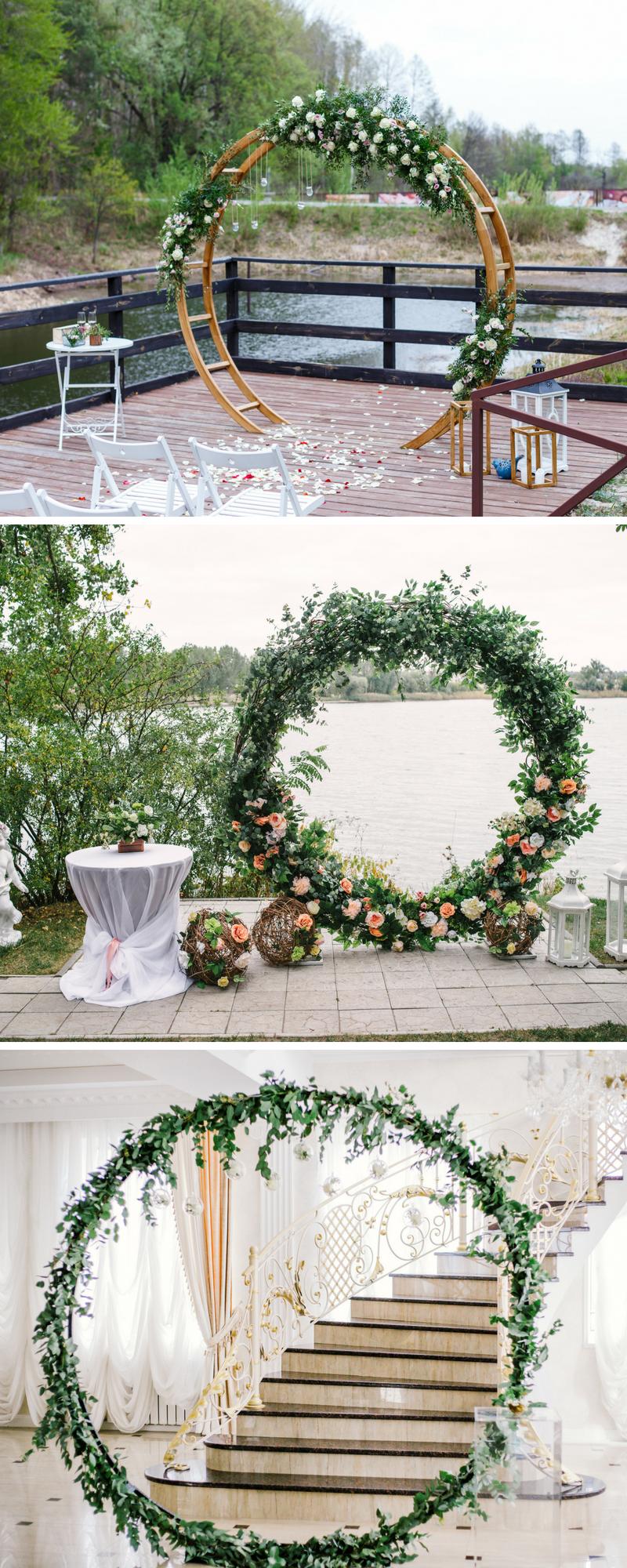 Hochzeitsdeko Ideen Garten Best Of Wedding Hoops – 30 Kreative Hochzeitsdeko Ideen