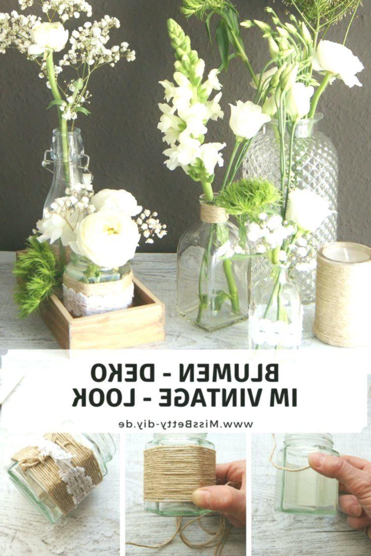 Hochzeitsdeko Vintage Selber Machen Elegant Blumen Deko Im Vintage Stil Selber Machen Für Hochzeit Als