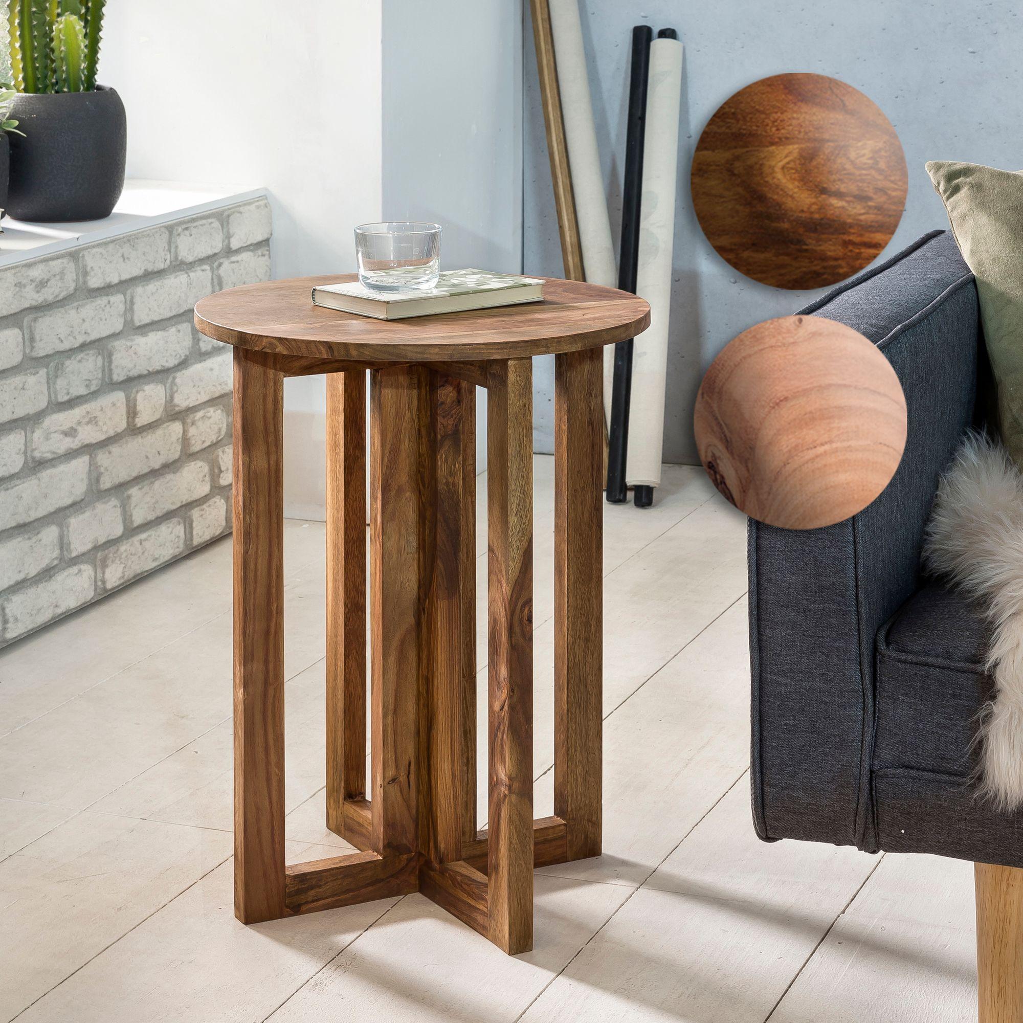 beistelltisch boxspringbett fine massivholz design deko anstell tisch