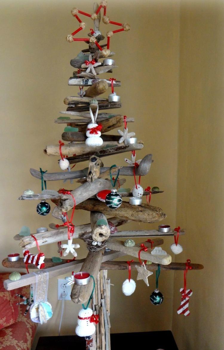 Holz Deko Selber Machen Weihnachten Inspirierend Weihnachtsbaum Selber Basteln – 25 Schöne Ideen