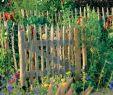 Holzdeko Für Den Garten Schön Holzzaun Für Den Garten Mein Schöner Garten