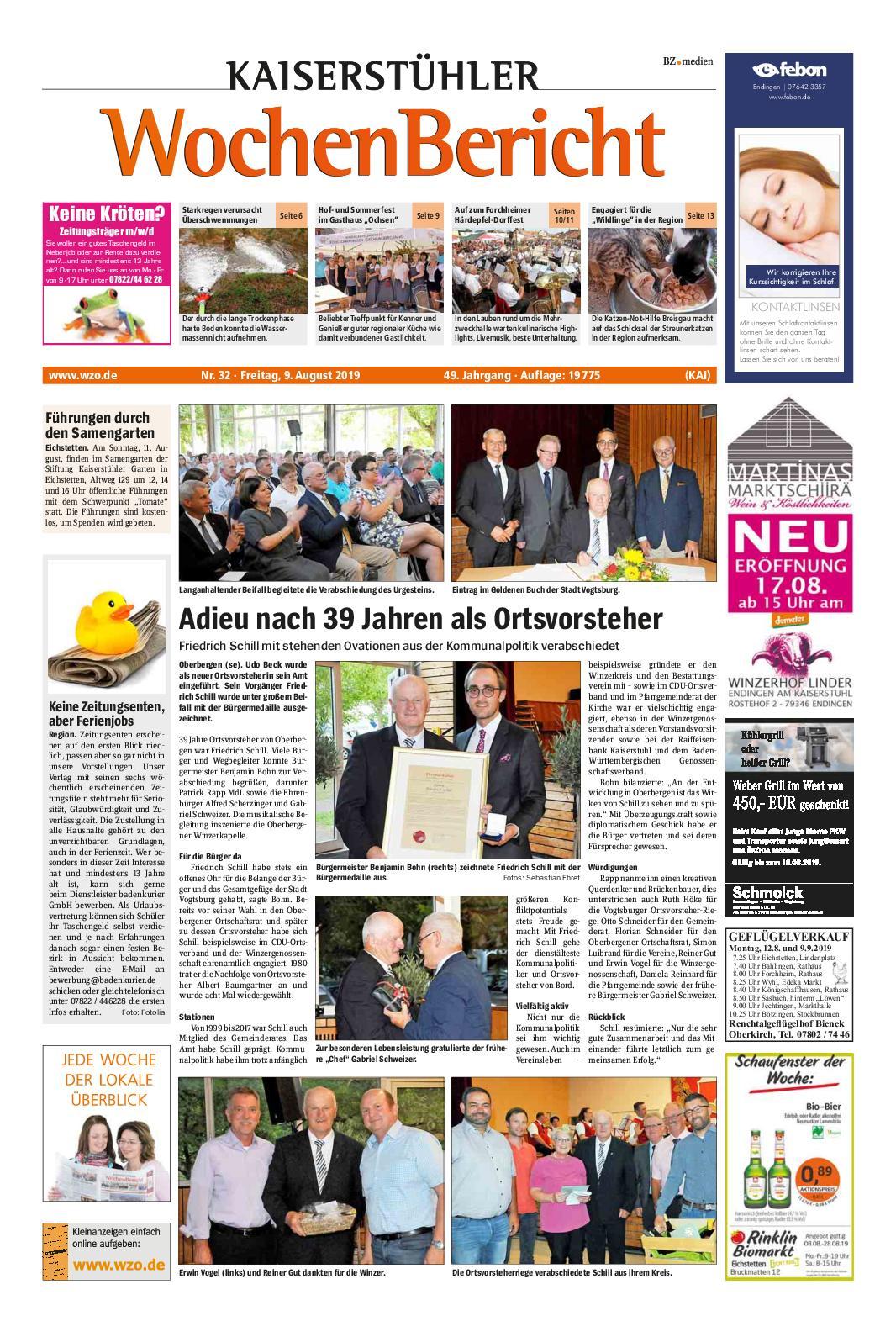 Holzleiter Alt Inspirierend Calaméo Kwb Vogtsburg