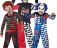 Horror Halloween Kostüme Luxus Boys Zombie Scary Clown Costume Evil Jester Horror
