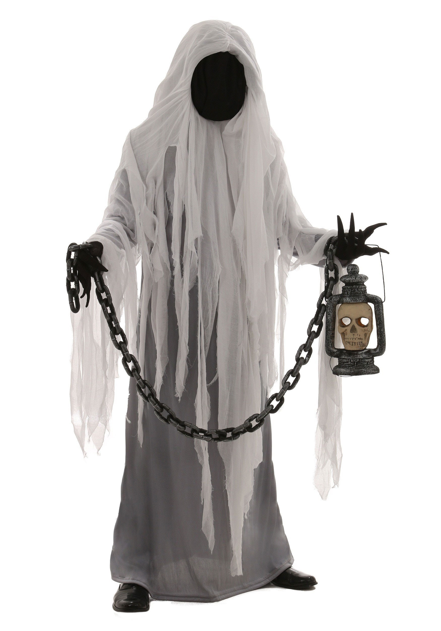 plus spooky ghost costume